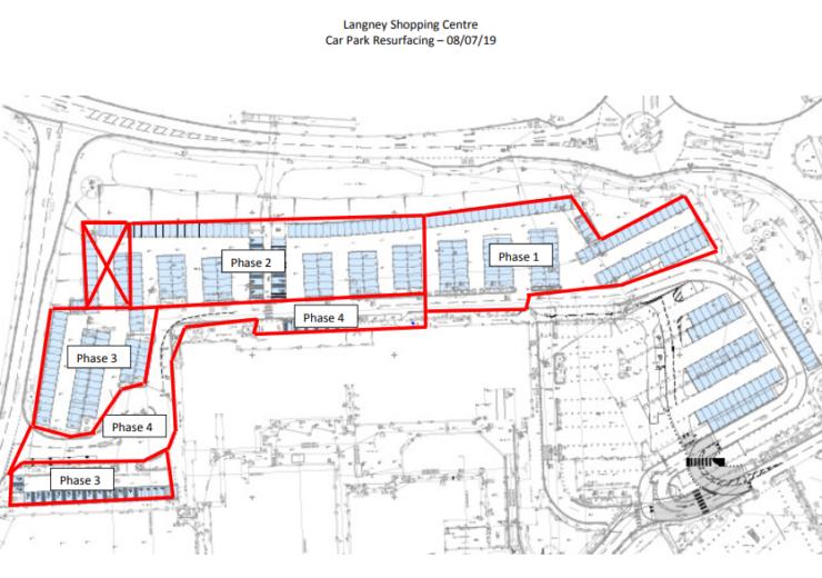 Langney-Shopping-Centre-Car-Park-Resurfacing-Phasing-1