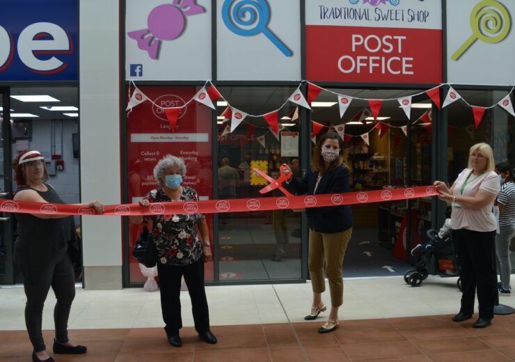 Official opening of new post office at Langney Shopping Centre.