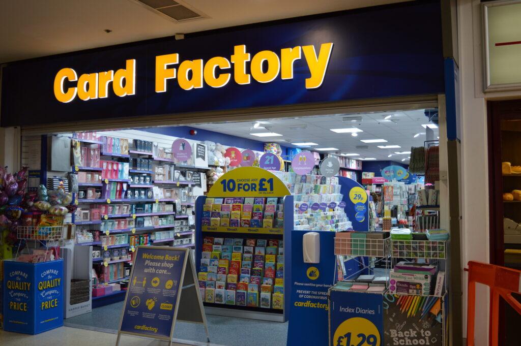 Card Factory Langney